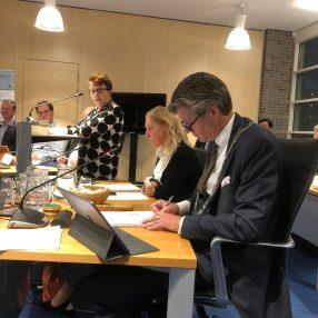 Mariska tijdens begrotingsbehandeling 2020